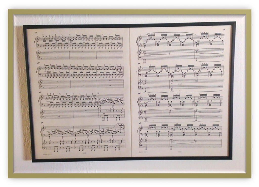 muziek van Bach in beeld gebracht als zijnde een schilderij